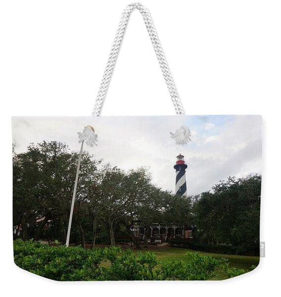 The St. Augustine Light Station Weekender Tote Bag