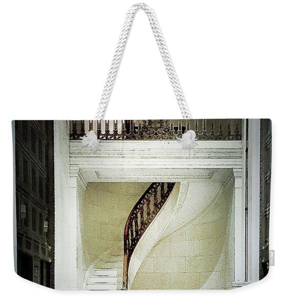 The Staircase Weekender Tote Bag