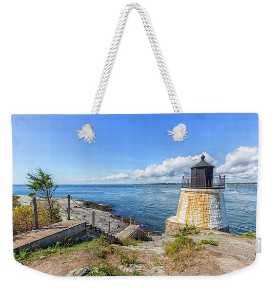 The Stairs To Castle Hill Lighthouse Weekender Tote Bag