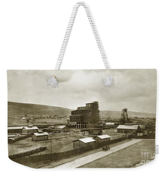 The Stanton Colliery Empire St. The Heights Wilkes Barre Pa Early 1900s Weekender Tote Bag
