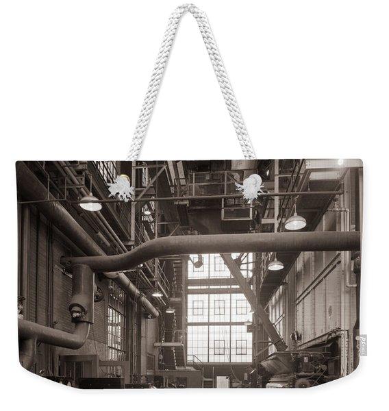 The Stegmaier Brewery Boiler Room Wilkes Barre Pennsylvania 1930's Weekender Tote Bag