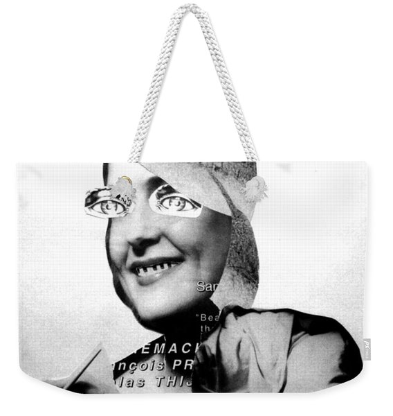 The Stenographer Weekender Tote Bag
