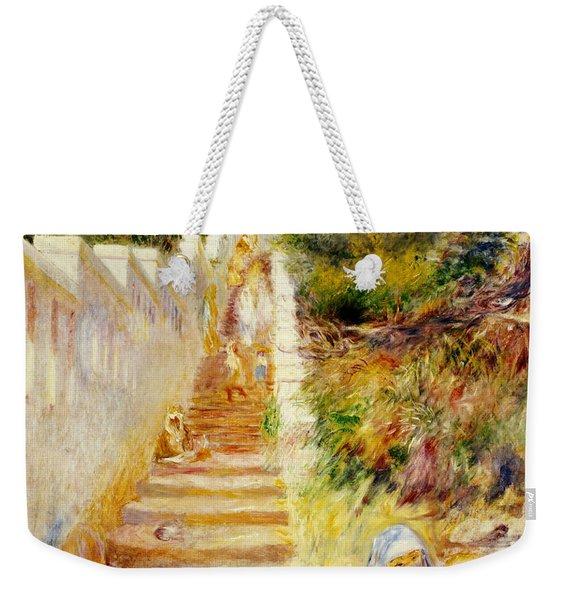 The Steps In Algiers Weekender Tote Bag