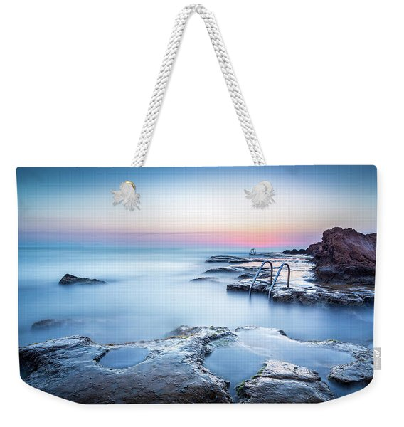 The Steps Into The Sea Weekender Tote Bag
