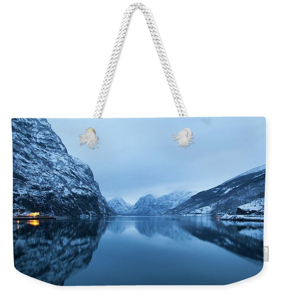 The Stillness Of The Sea Weekender Tote Bag