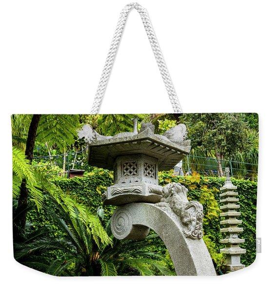 The Stone Lantern Weekender Tote Bag
