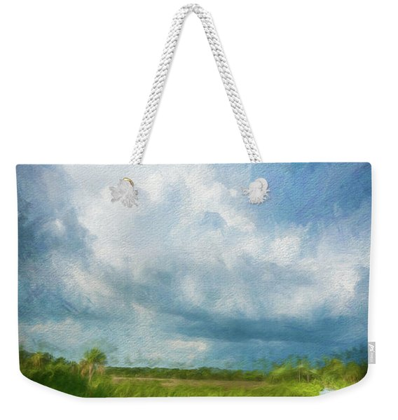 The Storm Weekender Tote Bag