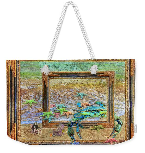 The Story Of The Sea Weekender Tote Bag