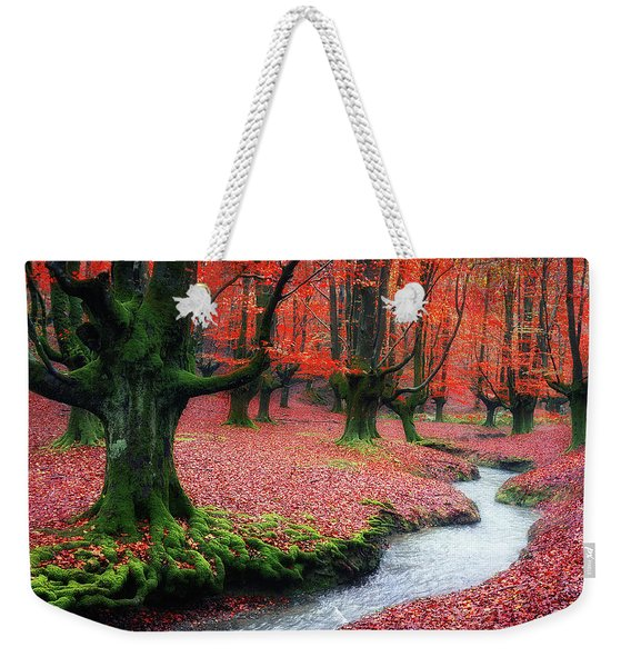 The Stream Of Life Weekender Tote Bag