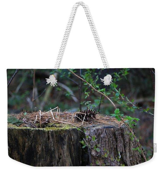 The Stump Weekender Tote Bag