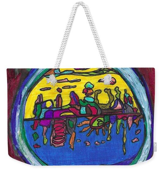The Subterranean Paradise Beneath Terra Firma Weekender Tote Bag