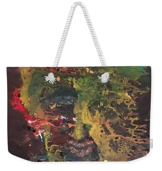 The Sun And The Moon Weekender Tote Bag