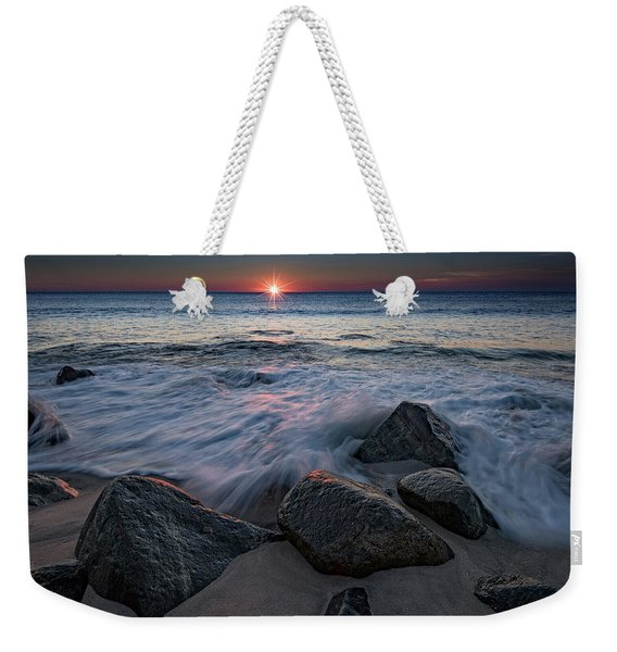 The Sun And The Tide Weekender Tote Bag
