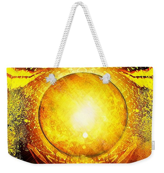 The Sun In Your Hands Weekender Tote Bag