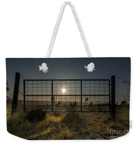The Sun Is Free Weekender Tote Bag