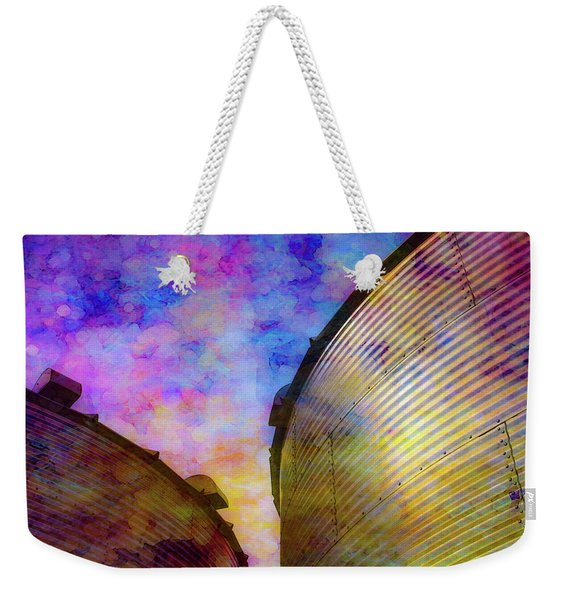 The Sun Sets The Stars Appear 4358 Idp_2 Weekender Tote Bag