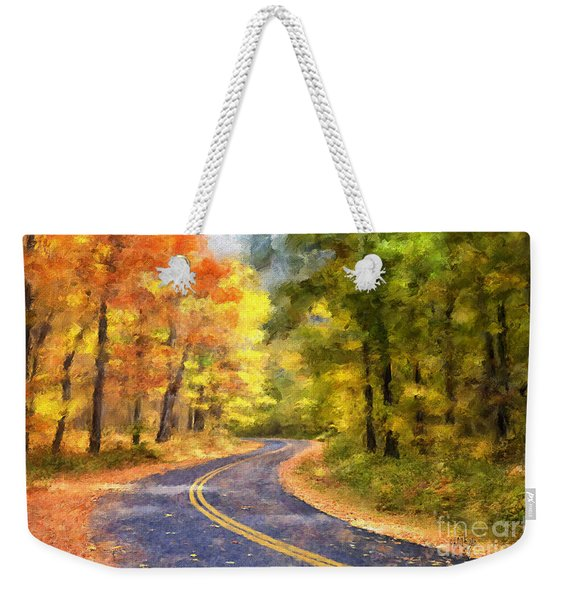 The Sunny Side Of The Street Weekender Tote Bag