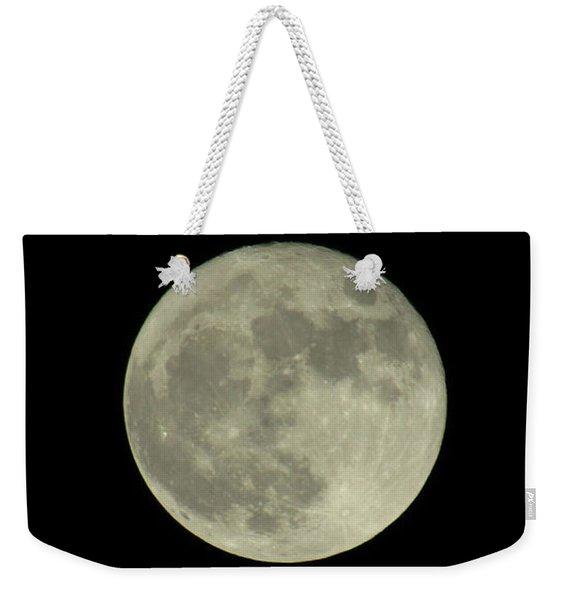 The Super Moon 3 Weekender Tote Bag