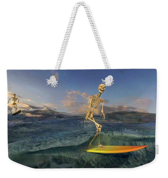 The Surf Roles Weekender Tote Bag