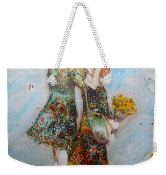 The Surprise Weekender Tote Bag