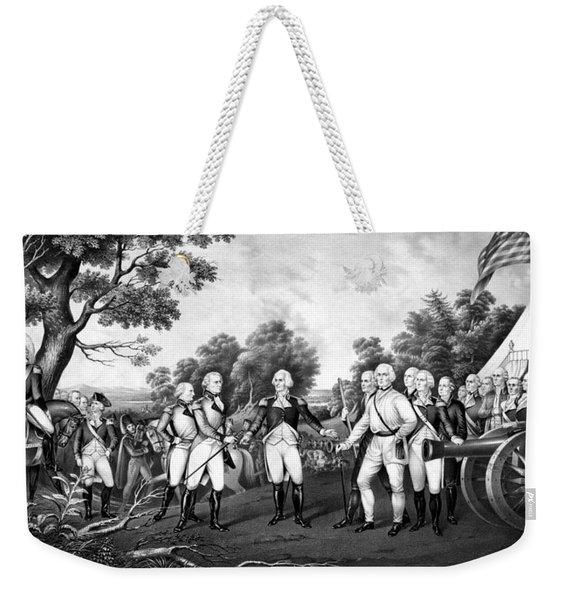 The Surrender Of General Burgoyne Weekender Tote Bag