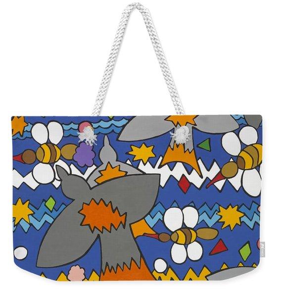 The Swallows Weekender Tote Bag