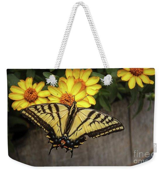 The Swallowtail Weekender Tote Bag