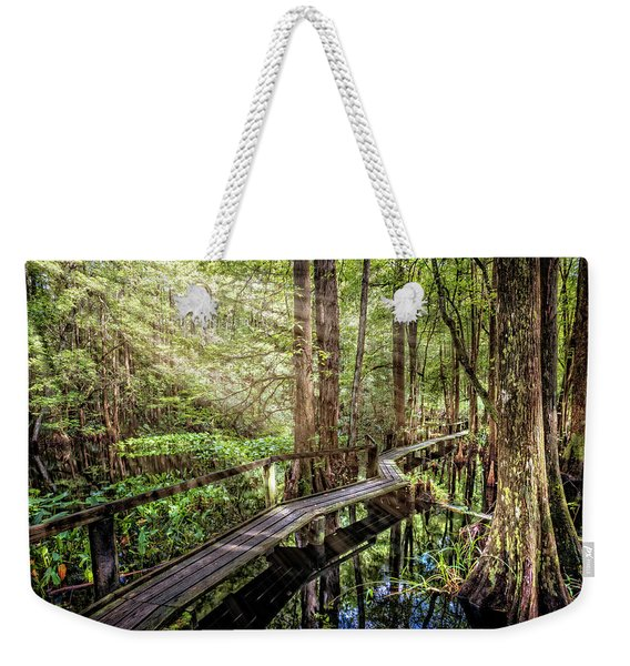 The Swamp Trail Weekender Tote Bag