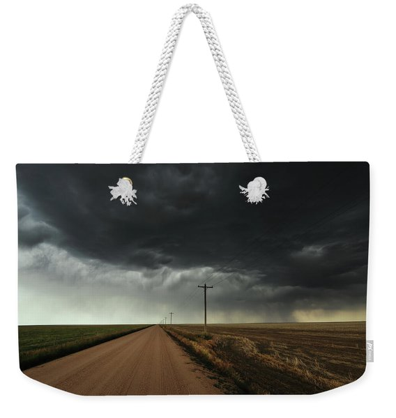The Symmetry Of The Plains Weekender Tote Bag