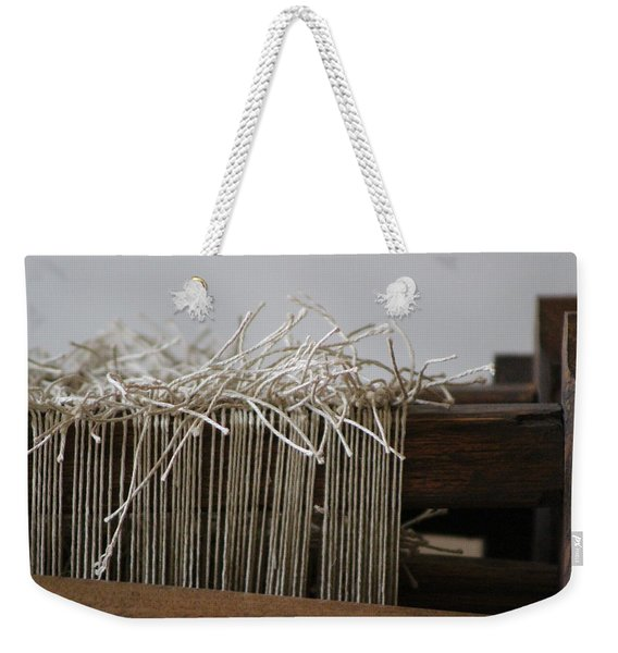 The Tales We Weave In Sepia Photograph Weekender Tote Bag