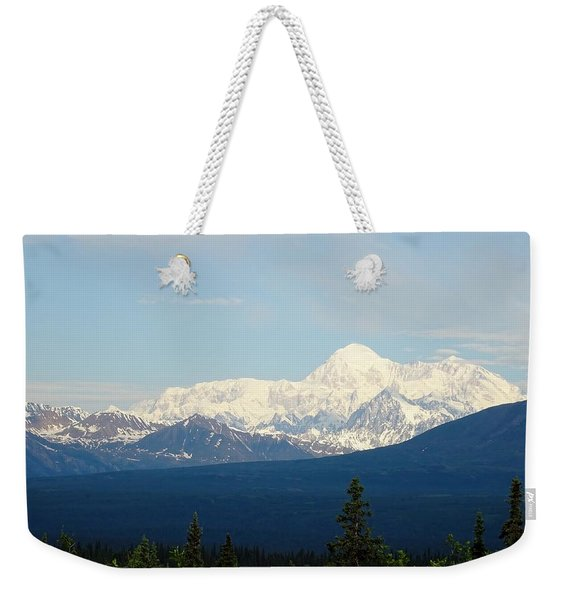 The Tallest Mountain In The World Weekender Tote Bag