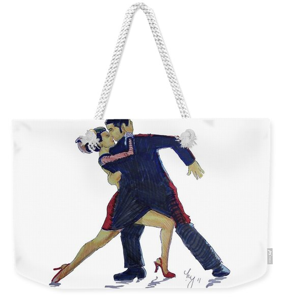The Tango Weekender Tote Bag