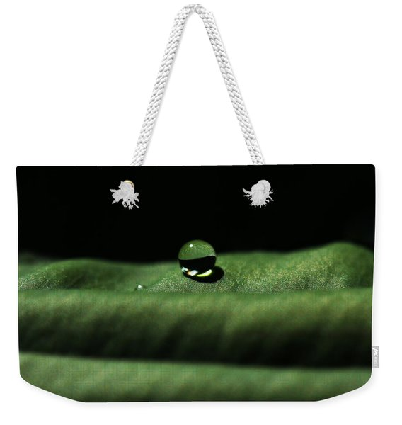 The Tao Of Raindrop Weekender Tote Bag