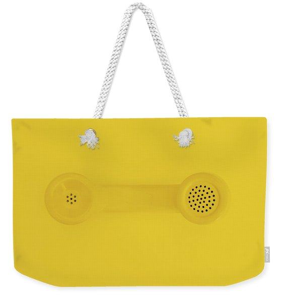 The Telephone Handset Weekender Tote Bag