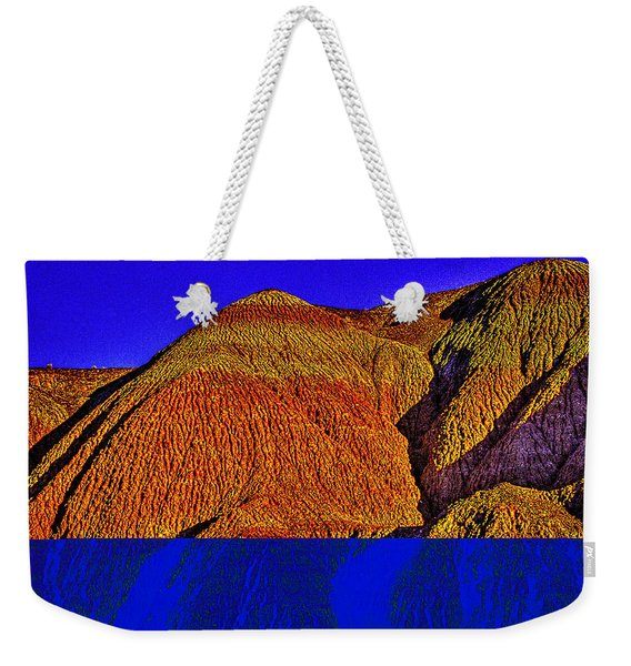 The Tepees Up Close Weekender Tote Bag
