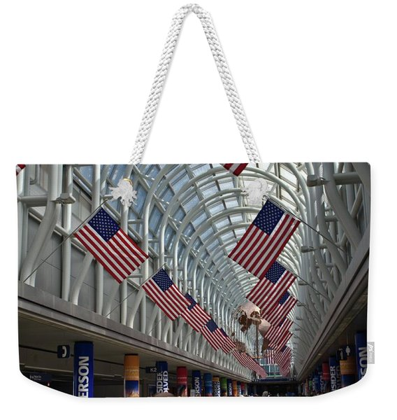 The Terminal Walkway Weekender Tote Bag