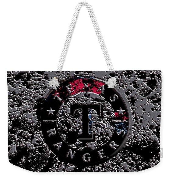 The Texas Rangers 1b Weekender Tote Bag