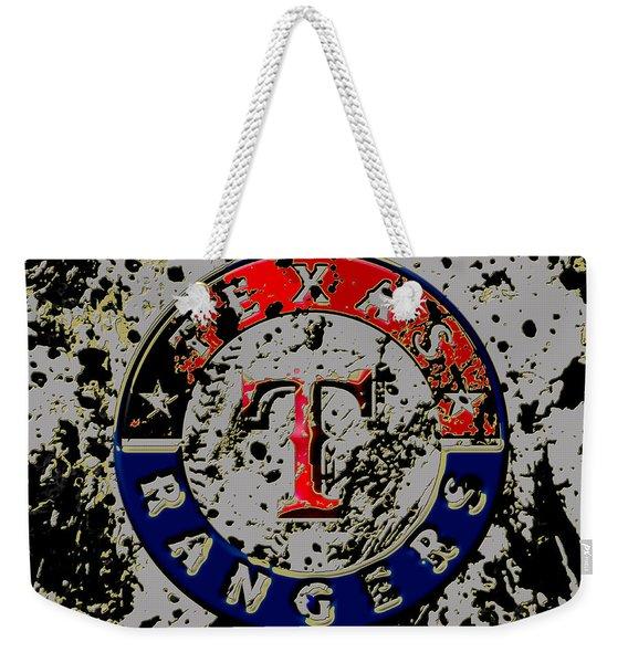 The Texas Rangers 6b Weekender Tote Bag