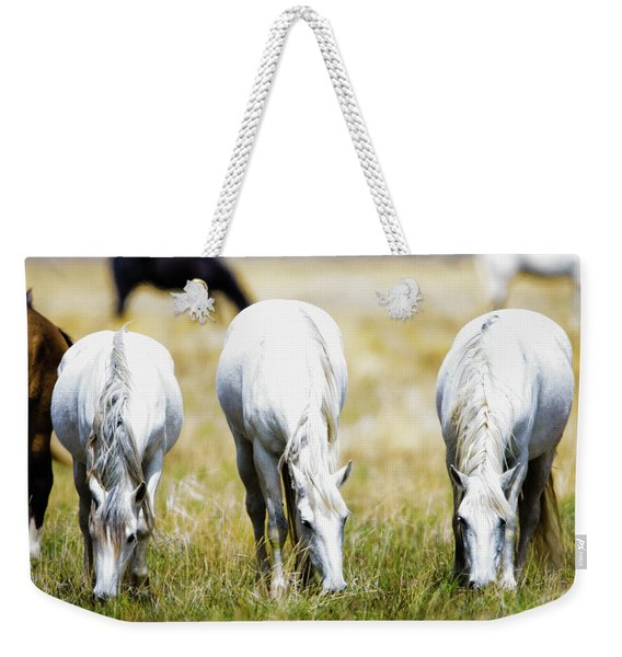 The Three Amigos Grazing Weekender Tote Bag