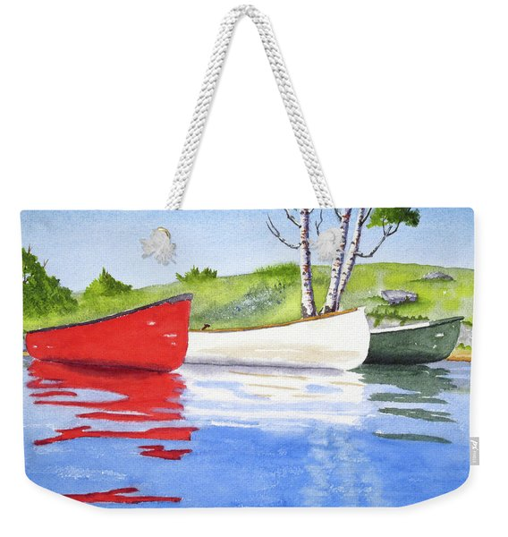 Weekender Tote Bag featuring the tapestry - textile The Three Amigos by Rich Stedman