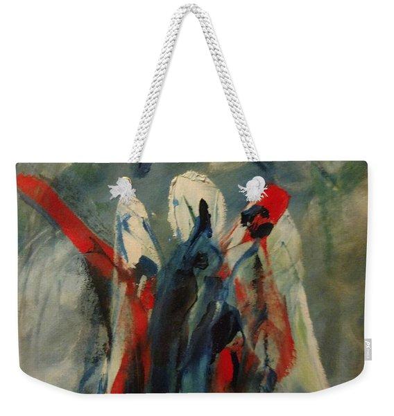 The Three Kings Of Christmas Weekender Tote Bag
