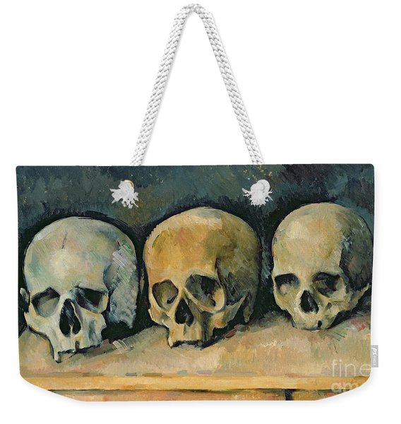 The Three Skulls Weekender Tote Bag