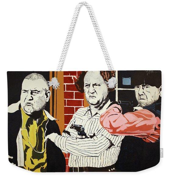 The Three Stooges Weekender Tote Bag