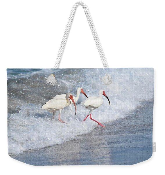 The Tide Of The Ibises Weekender Tote Bag