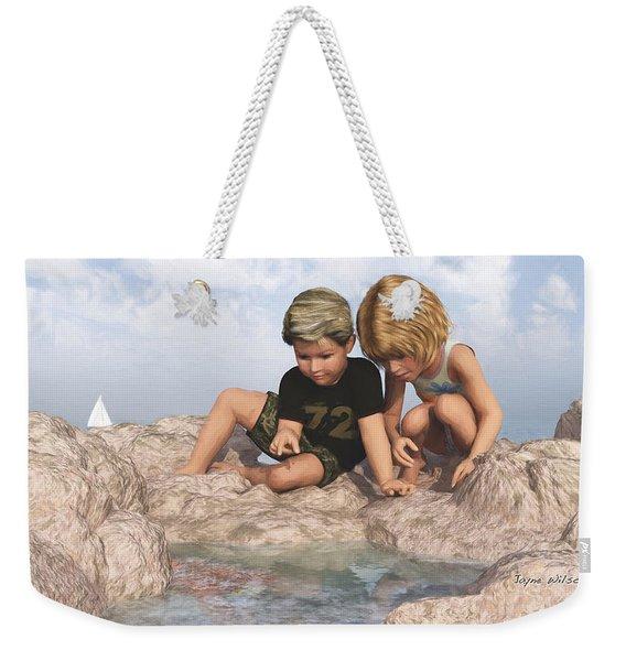 The Tide Pool Weekender Tote Bag