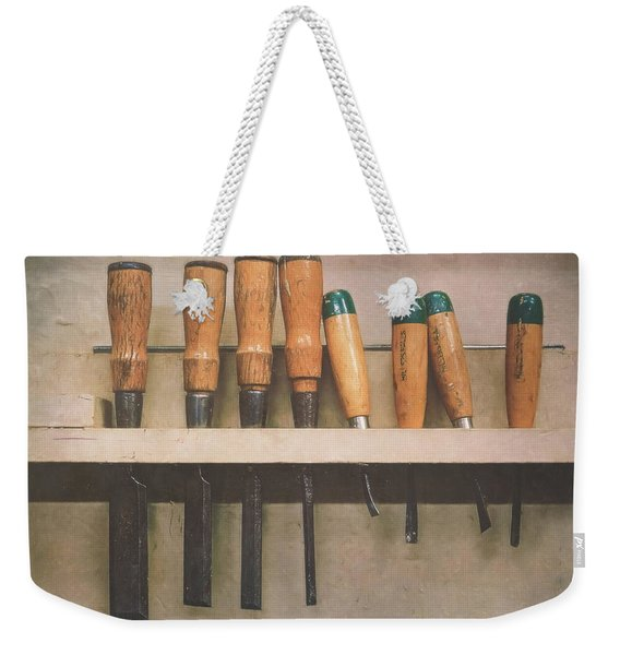 The Tools Of The Trade Weekender Tote Bag