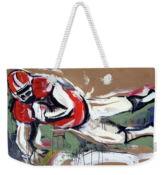 The Touchdown Weekender Tote Bag