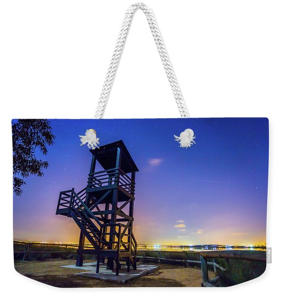 The Tower And The Stars Weekender Tote Bag