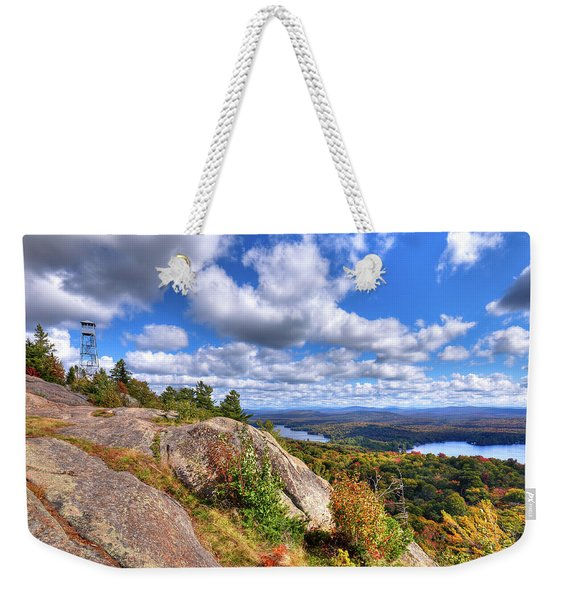 The Tower On Bald Mountain Weekender Tote Bag