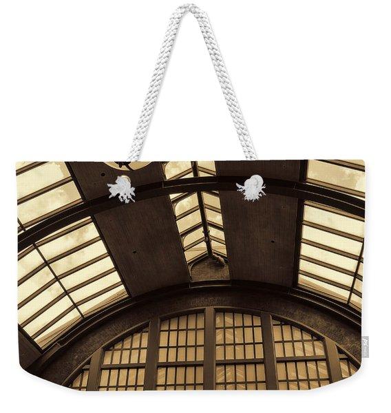 The Train Station Weekender Tote Bag
